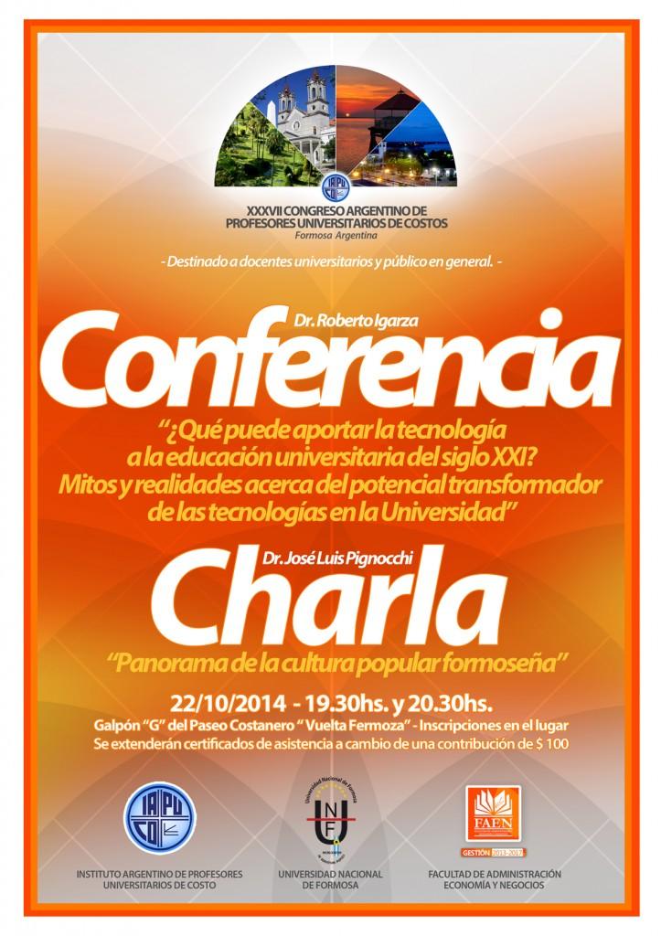 web CONFERENCIA CHARLA AFICHE