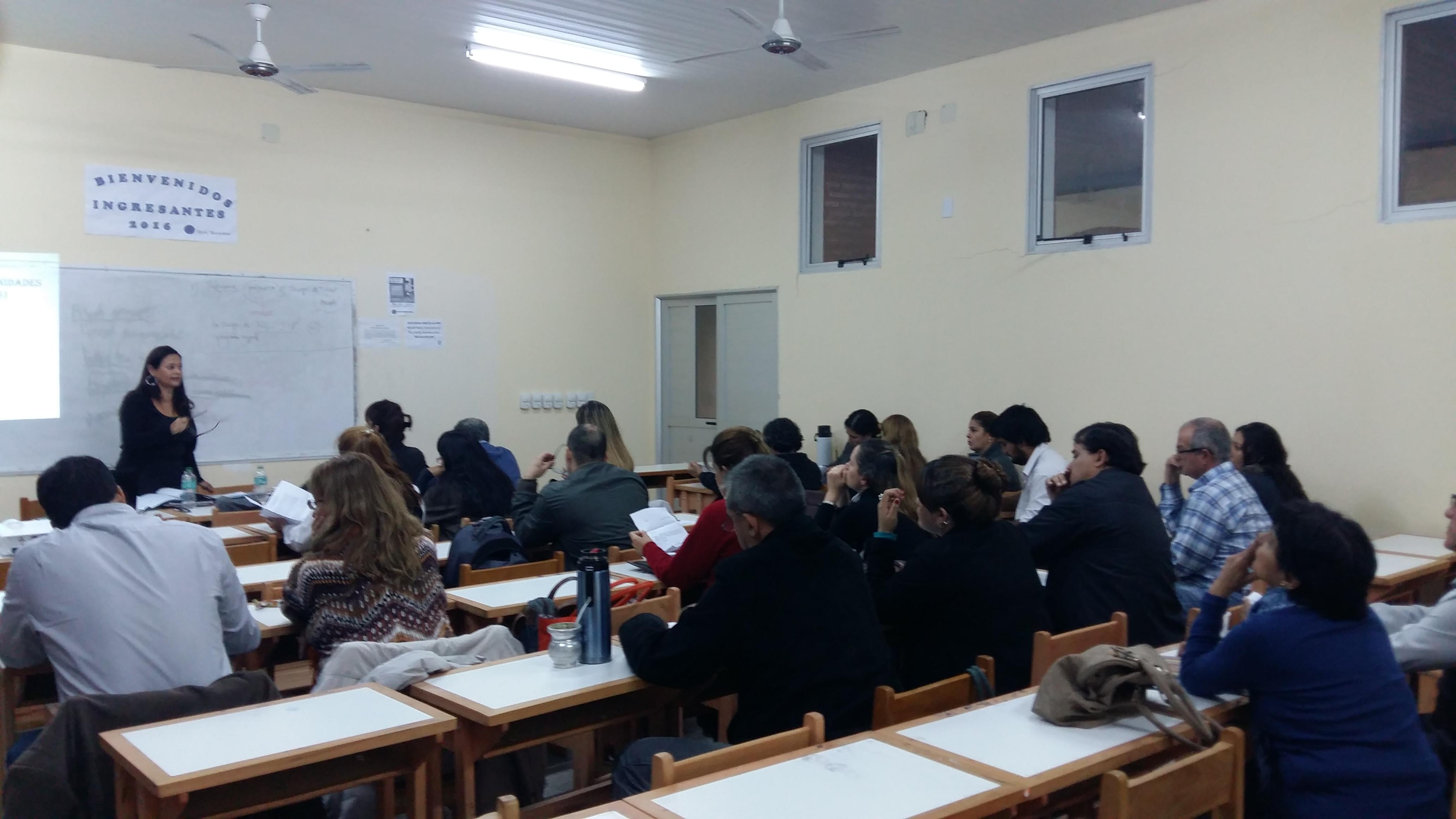 Exitosas jornadas de capacitaciones aspecto jur dicos for Concurso para profesores